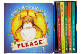 Cheeky Monkey Manners 6 Book Collection