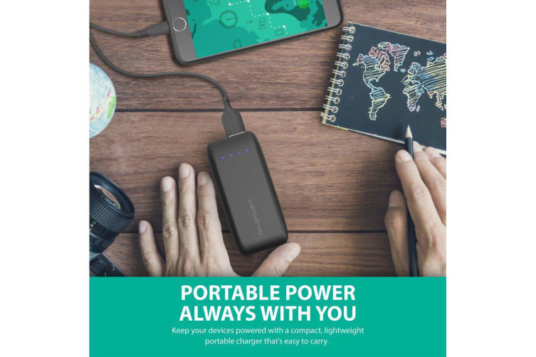 RAVPower 6700mAh 2.4A Output External Battery Pack Power Bank Portable Charger