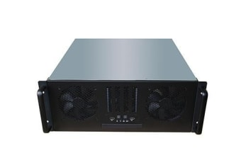 TGC Rack Mountable Server Chassis 4U 450mm Depth with ATX PSU Window - no PSU