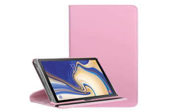 For Samsung Galaxy Tab S4 10.5in Case Pink Lychee Texture Folio Leather Case