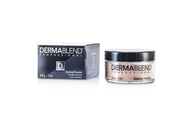 Dermablend Loose Setting Powder (Smudge Resistant, Long Wearability) - Cool Beige 28g
