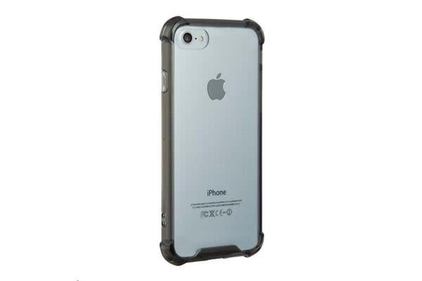 NVS iPhone 7 Clear Shield Case - Grey