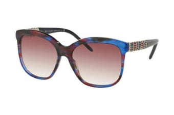 Bvlgari BV8155 - Blue Red Fantasy (Grey Violet Shaded lens) Womens Sunglasses