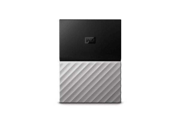 WD My Passport Ultra 2TB Portable Hard Drive - Grey (WDBTLG0020BGY-WESN)