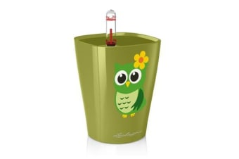 Lechuza Mini Deltini (Owl) (High Gloss Olive Green)