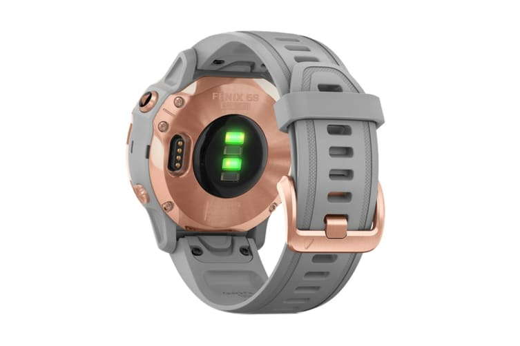 Garmin Fenix 6S Sapphire Pro (Rose Gold with Gray Band)