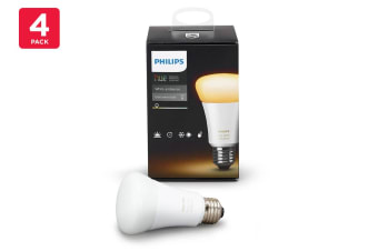 Philips Hue White Ambient Bulb 9.5W A60 E27 Smart Bulb (4 Pack)