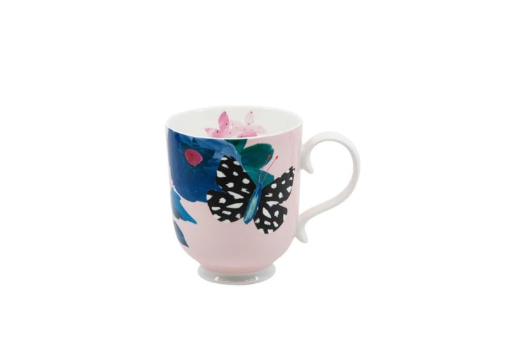 Salt & Pepper Willow Mug 340ml Rose