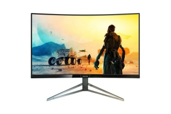"Philips 31.5"" 2K QHD 2560x1440 HDR400 144Hz Curved Gaming Monitor with FreeSync (328M6FJRMB)"