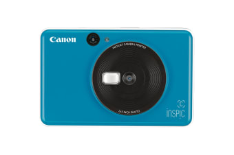 Canon INSPIC C Instant Camera - Sea Side Blue