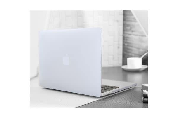 "MacBook Pro 15.4"" Matte Rubberized Hard Case Shell Cover(Clear) for A1707"