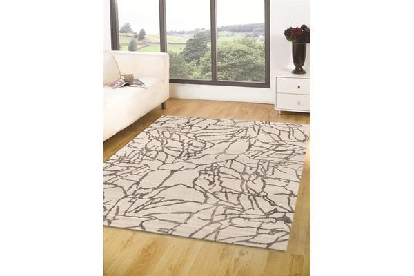 High Quality Rug - Marble White 170x120cm