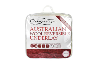 Onkaparinga Reversible Water Proof Australian Wool Underlay
