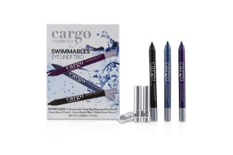 Cargo Swimmables Eye Liner Trio 3x0.8g