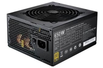 Cooler Master ER MWE 80+ GOLD, 650W, MODULAR CABLE, COMPACT SIZE WITH 12CM FAN