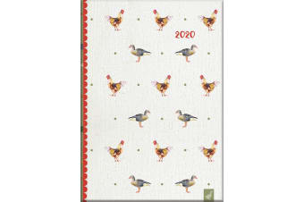 Country Life - 2020 Diary Planner A5 Padded Cover by The Gifted Stationery