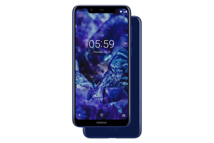 Nokia 5.1 Plus (32GB, Baltic Sea Blue)