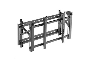"BRATECK 45-70"" Pop-Out Video Wall Mount. Lateral shift bracket for fast alignment."