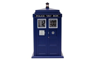 Doctor Who Tardis Projection Alarm Clock | bbc time machine projector table desk