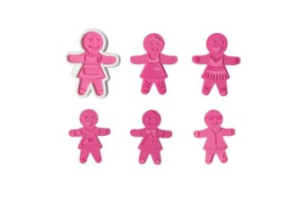 Tovolo Ginger Girls 6pc Cookie Cutter Set