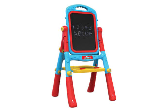 Kids Double Sided Easel with Blackboard & Whiteboard