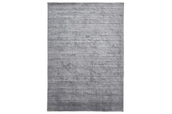Manhattan Stylish Hand Made Rug Dark Grey