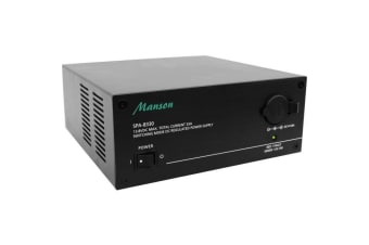 33A CONT 36A MAX 13.8VDC POWER SUPPLY BENCH TOP BLACK