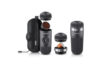 Wacaco Nanopresso Espresso Coffee Machine + Case + Adapter + Barista Kit