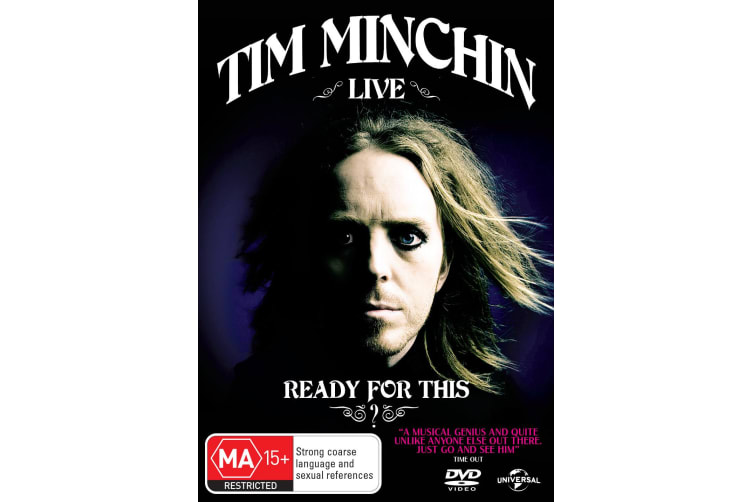 Tim Minchin Ready for This DVD Region 4