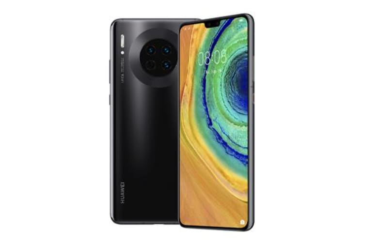 New Huawei Mate 30 Dual 128GB Black  (FREE DELIVERY + 1 YEAR AU WARRANTY)