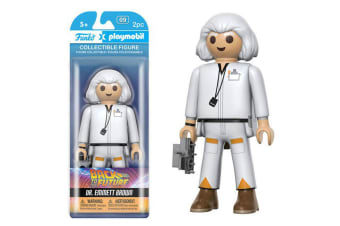 Back to the Future Dr Emmett Brown Playmobil
