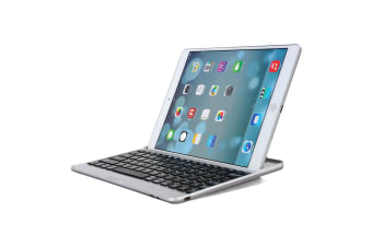 Aluminum Bluetooth Wireless Keyboard Cover CaseFor iPad Pro 9.7 Inch 2016-Black