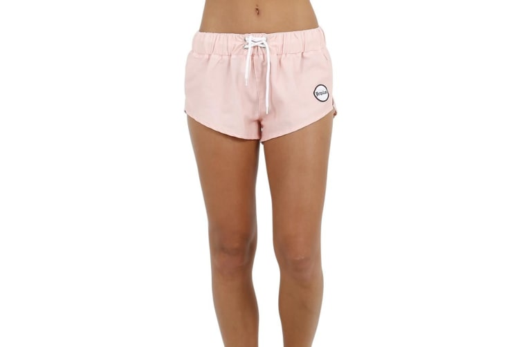 JetPilot Metal Baby Ladies Boardshorts - Peach - 6