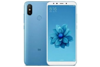 New Xiaomi Mi A2 Dual SIM 64GB 4G LTE Smartphone Blue (FREE DELIVERY + 1 YEAR AU WARRANTY)