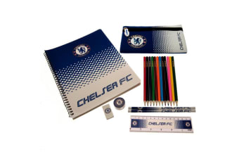 Chelsea FC Official Ultimate Stationery Set (Multicolour) (One Size)