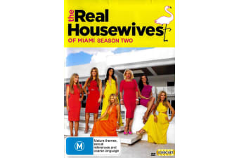 THE REAL HOUSEWIVES OF MIAMI: SEASON 2 SLIP HAS DAMAGE - Series Region 4 Preowned DVD: DISC LIKE NEW