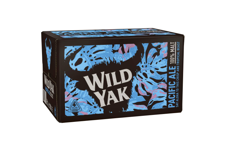 Wild Yak Pacific Ale Beer 24 x 345mL Bottles