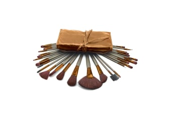 Makeup Brushes - Bronze