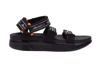 Ellesse Women's Denso Text AF Sandal (Black)