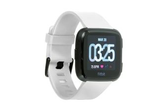 Fitbit Versa Smart Fitness Watch (White)