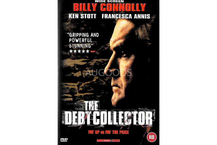 The Debt Collector - Billy Connolly - Region 2 Rare- Aus Stock Preowned DVD Excellent Condition