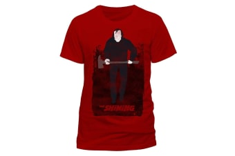 The Shining Adults Unisex Adults Jack T-Shirt (Red)