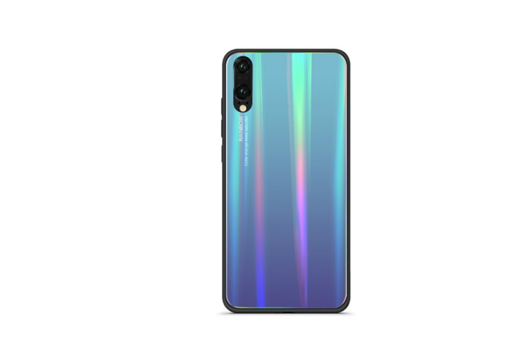 Ultra Thin Tpu Colorful Gradient Tempered Glass Protection For Huawei - No.1 Honor10
