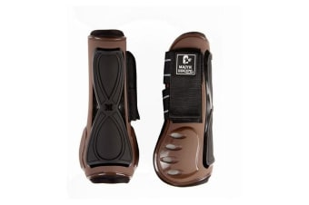 Majyk Equipe Horse Series 3 Infinity Tendon Boot (Brown/Black)