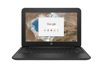 "HP 11.6"" HD Chromebook 11 G5 Celeron N3060 4GB RAM 16GB eMMC (HP-1FX82UT)"
