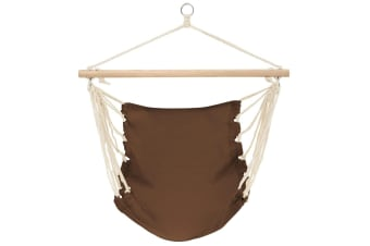 vidaXL Hammock Chair Brown 100x80 cm