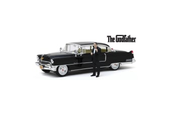 1:18 Scale The Godfather 1955 Cadillac Fleetwood Series 60 Diecast Model