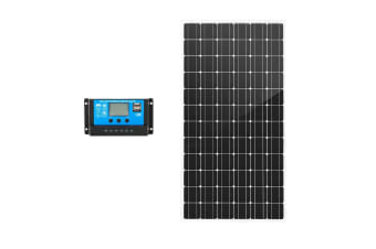 ATEM POWER 250W 12V Mono Solar Panel Kit Caravan Camping Power Battery Charging Home
