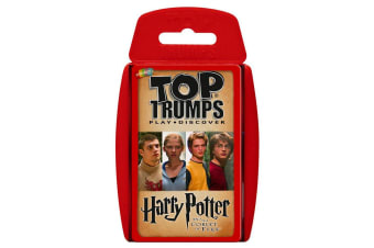 Top Trumps Harry Potter & The Goblet of Fire Card Game 6y+ Family/Kids/Adult Toy