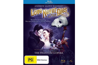 Andrew Lloyd Webbers Love Never Dies Blu-ray Region B